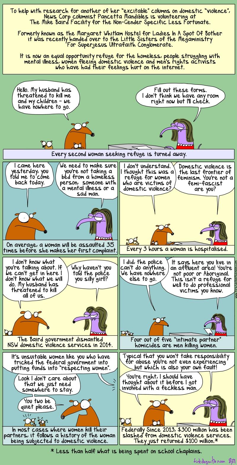 First Dog on the Moon - Cartoon 1